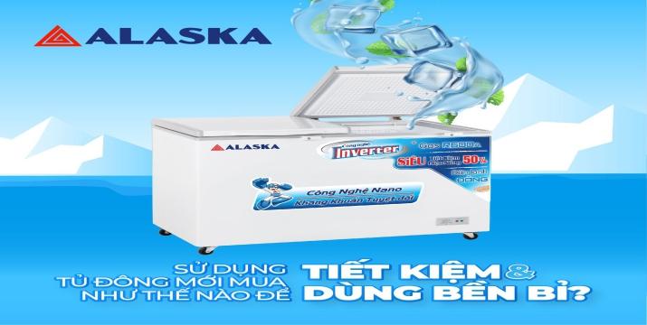 Tủ Đông Alaska Inverter
