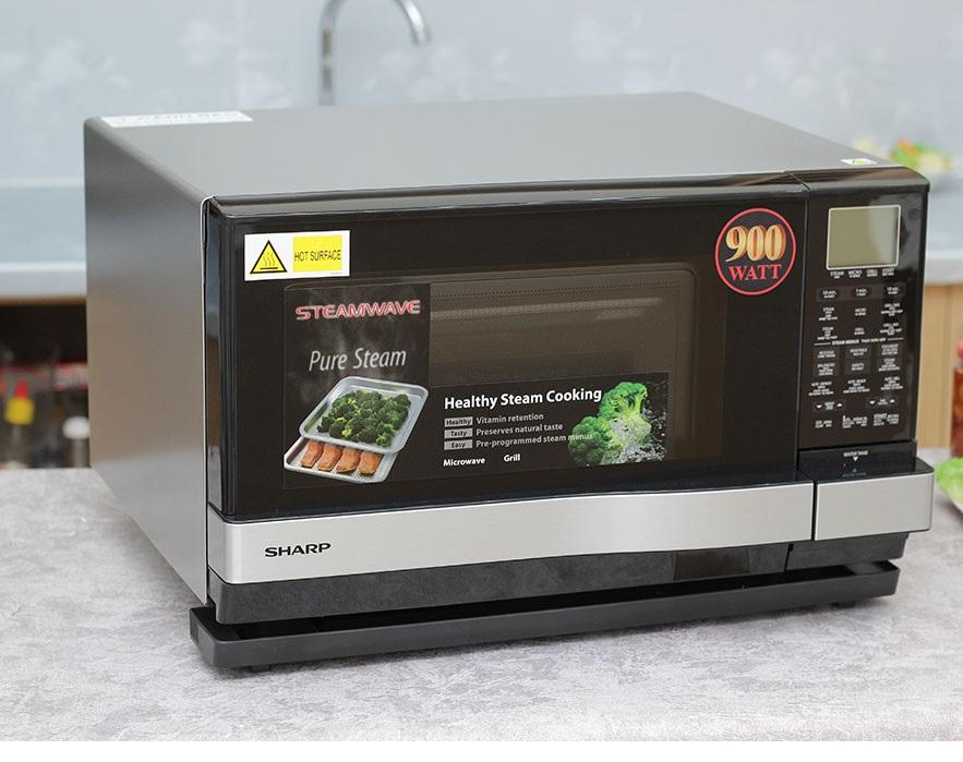 Lò vi sóng hơi nước siêu nhiệt Sharp AX-1100VN(S)