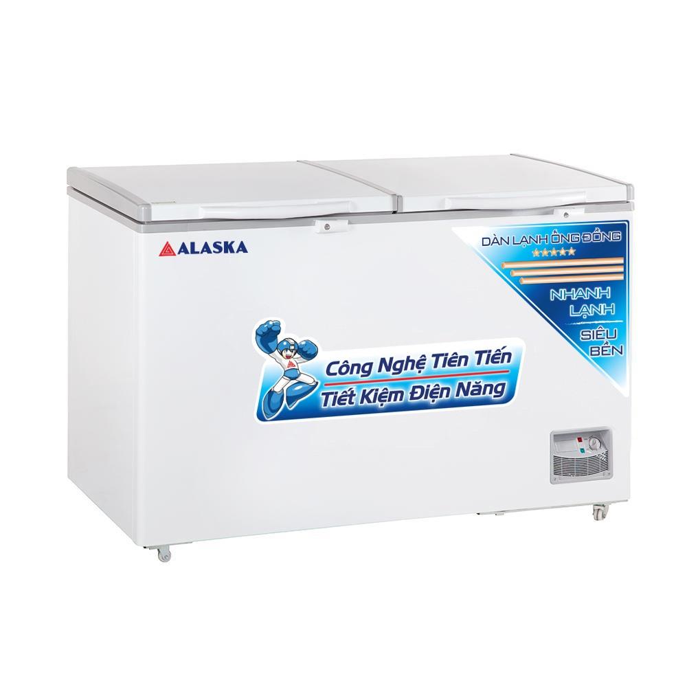 Tủ Đông Alaska HB-550C Dàn Đồng 419 Lít Làm Bia Sệt