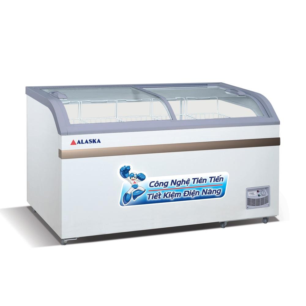 Tủ Đông Alaska SC-601B 600 lít 2 kiếng lùa cong