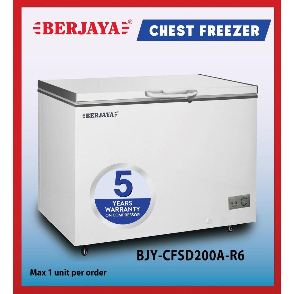 TỦ ĐÔNG BERJAYA 160 LÍT BJY-CFSD200A-R6 R134A