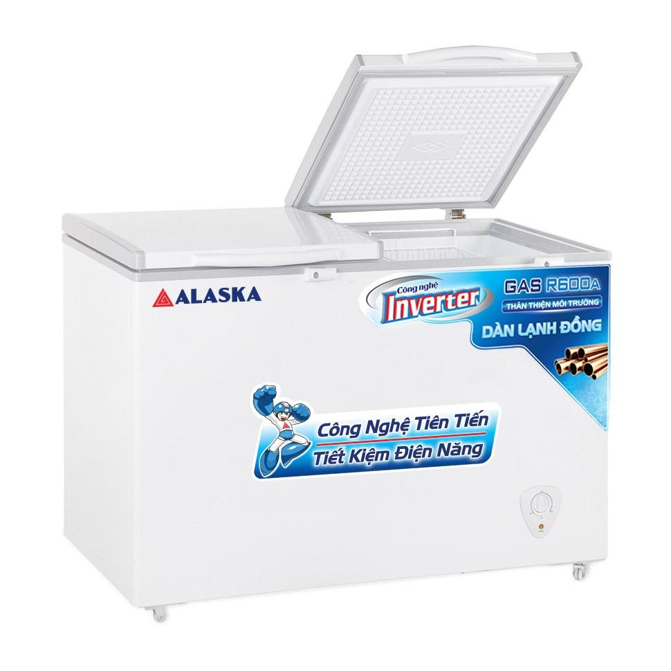 Tủ Đông Inverter Alaska HB-550CI 419 Lít Dàn Đồng Làm Bia Sệt