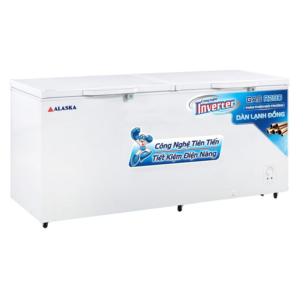 Tủ Đông Inverter Alaska HB-890CI 588 Lít Dàn Đồng Làm Bia Sệt
