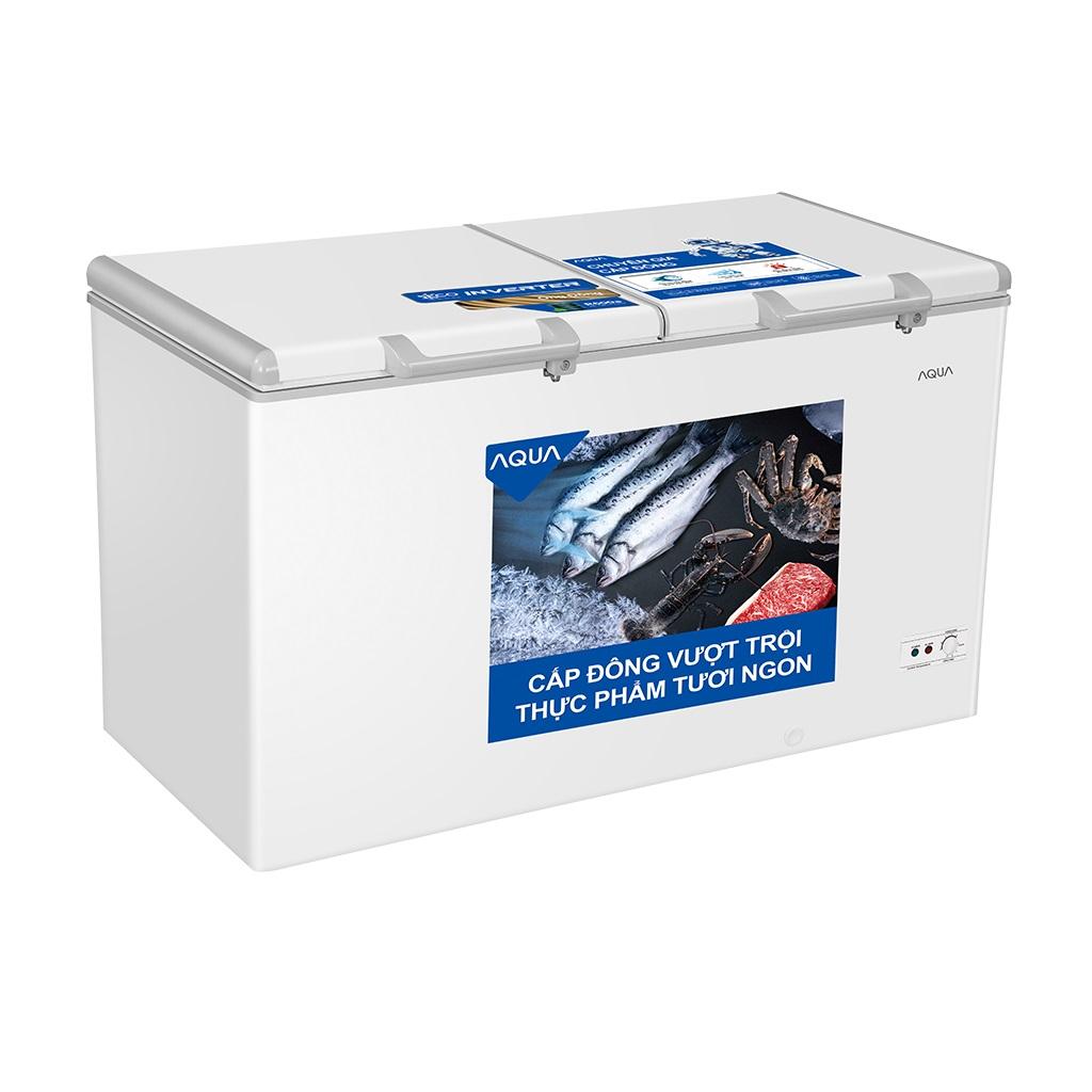 Tủ Đông Inverter AQUA AQF-C4201E 319 Lít Dàn Đồng
