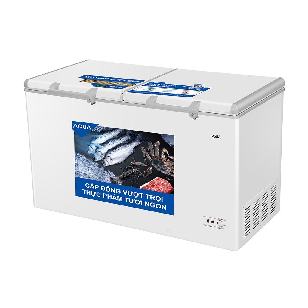 Tủ Đông Inverter AQUA AQF-C5701E 425 Lít Dàn Đồng