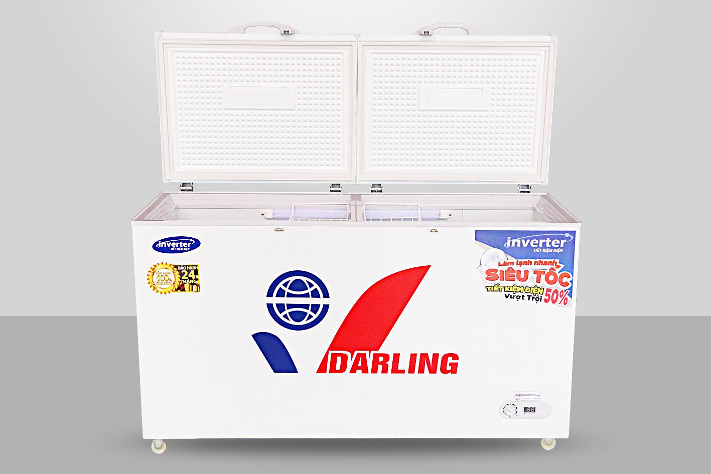 Tủ Đông Inverter Darling DMF-3799AI-1 350 Lít Dàn Đồng