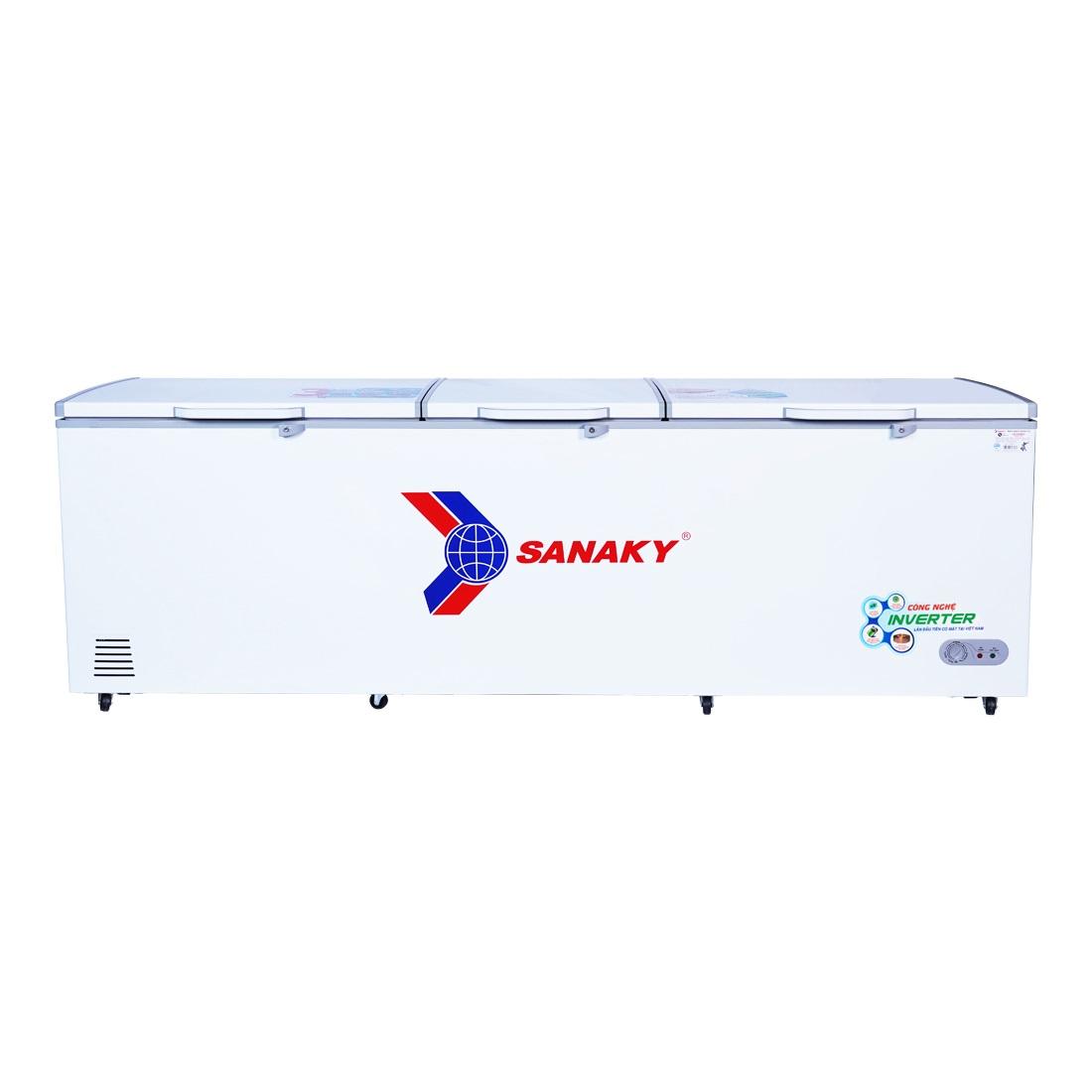 TỦ ĐÔNG INVERTER SANAKY VH-1199HY3 900 LÍT ĐỒNG