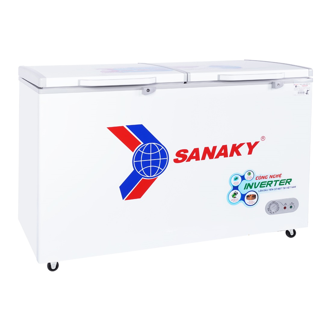 TỦ ĐÔNG INVERTER SANAKY VH-5699HY3 410 LÍT ĐỒNG