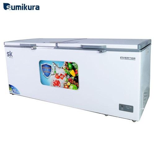 Tủ Đông Inverter Sumikura SKF-1100SI 1100 Lít Dàn Đồng