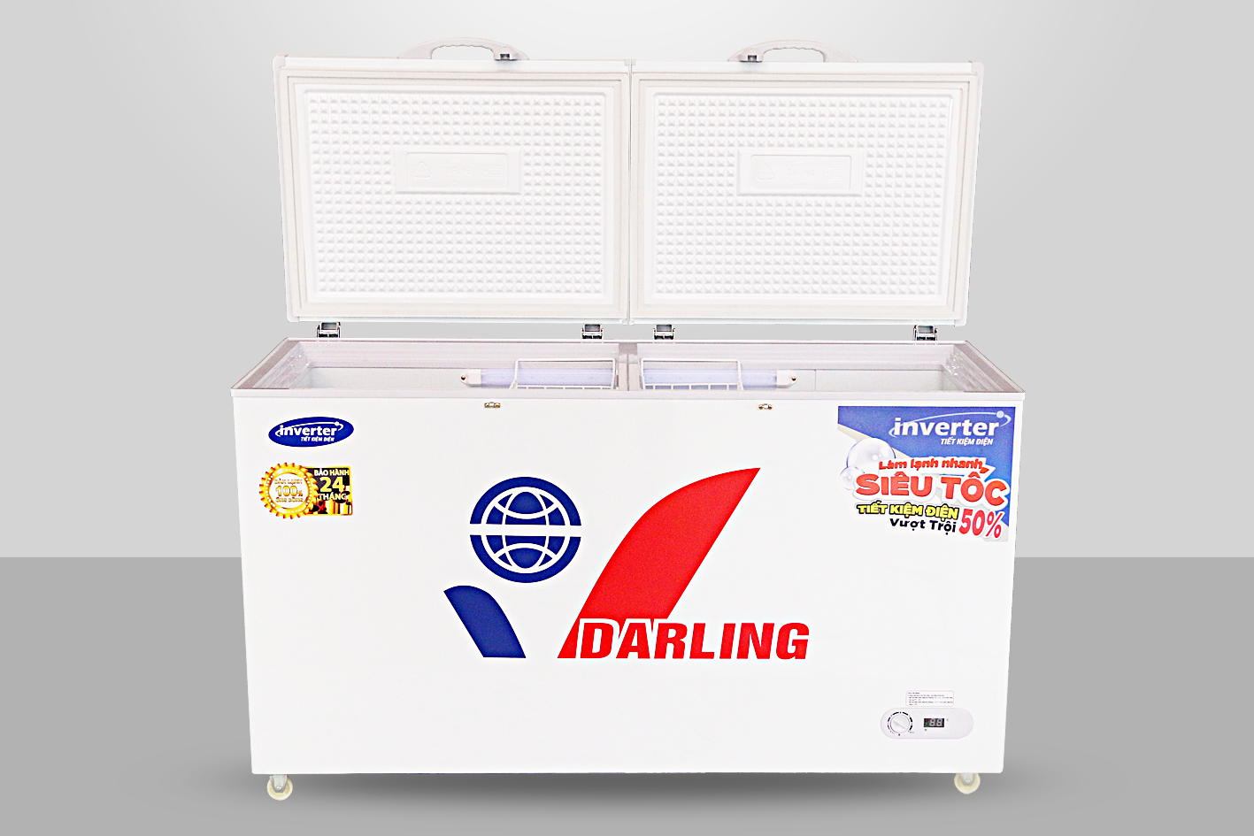 Tủ Đông Mát Darling DMF-2699WI-1