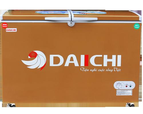 Tủ Đông Mát Inverter Daiichi DC-CF2899W-GO 280 Lít Dàn Đồng Màu Vàng