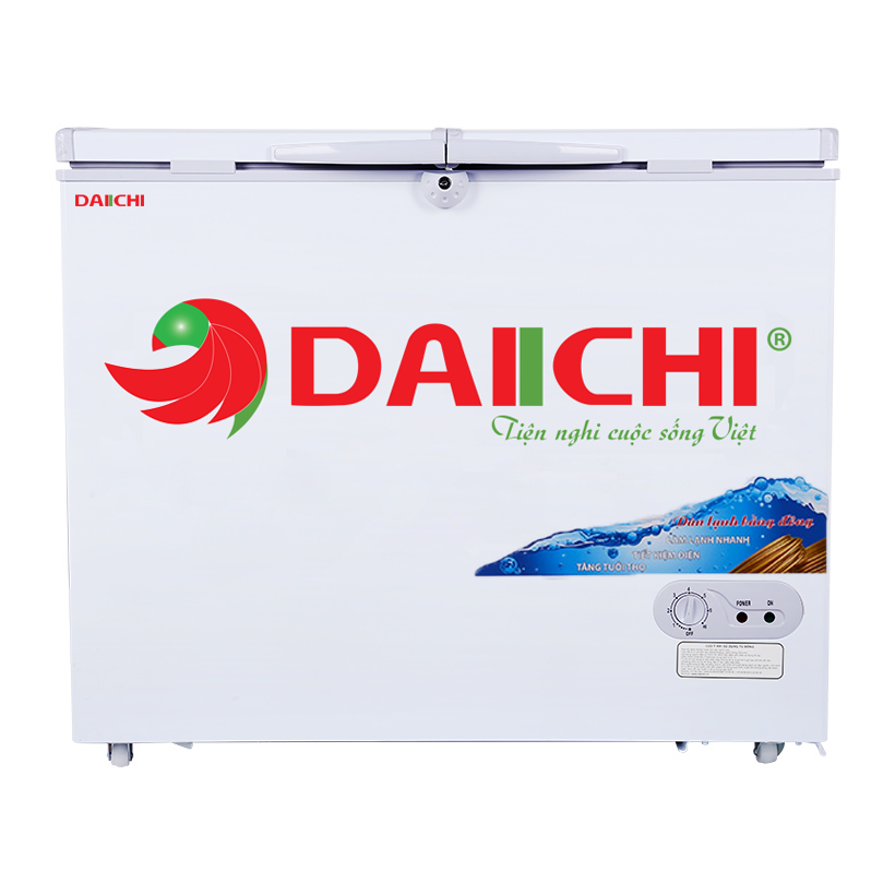 Tủ Đông Mát Inverter Daiichi DC-CF2899W 280 Lít Dàn Đồng Màu Trắng