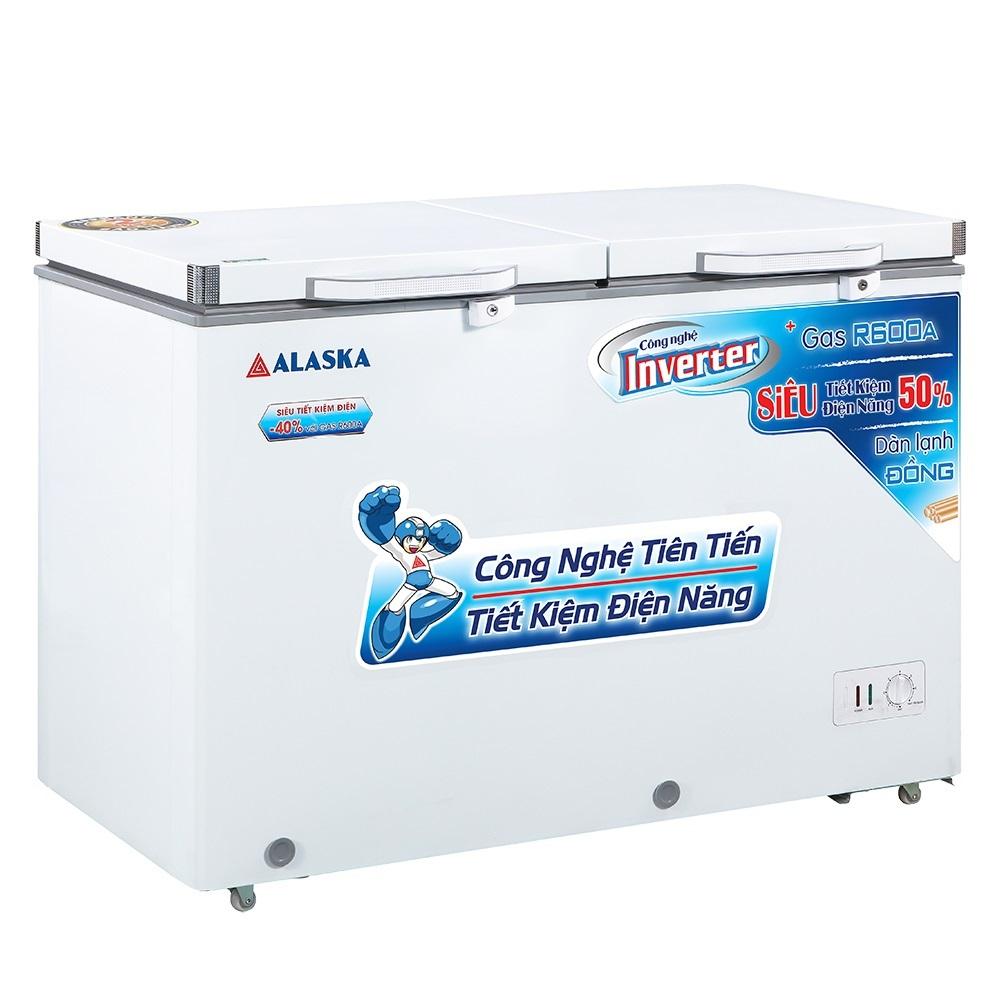 Tủ Đông Mát Inverter Alaska FCA-4600CI 267 Lít Dàn Đồng