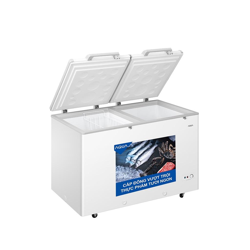 Tủ Đông Mát Inverter AQUA AQF-C5702E 365 Lít Dàn Đồng