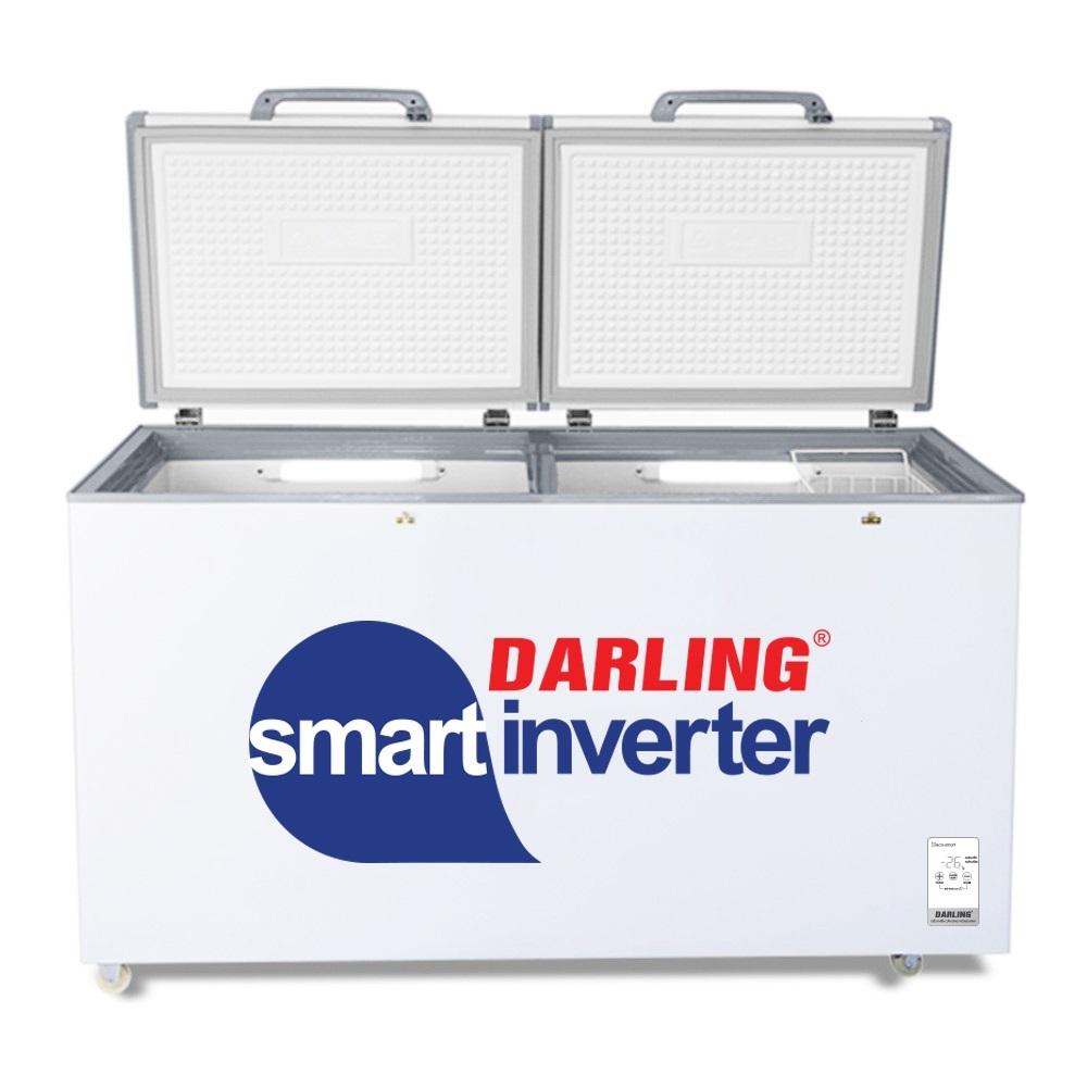 Tủ Đông Mát Inverter Darling 450 Lít DMF-4699WSI-4 Dàn Đồng