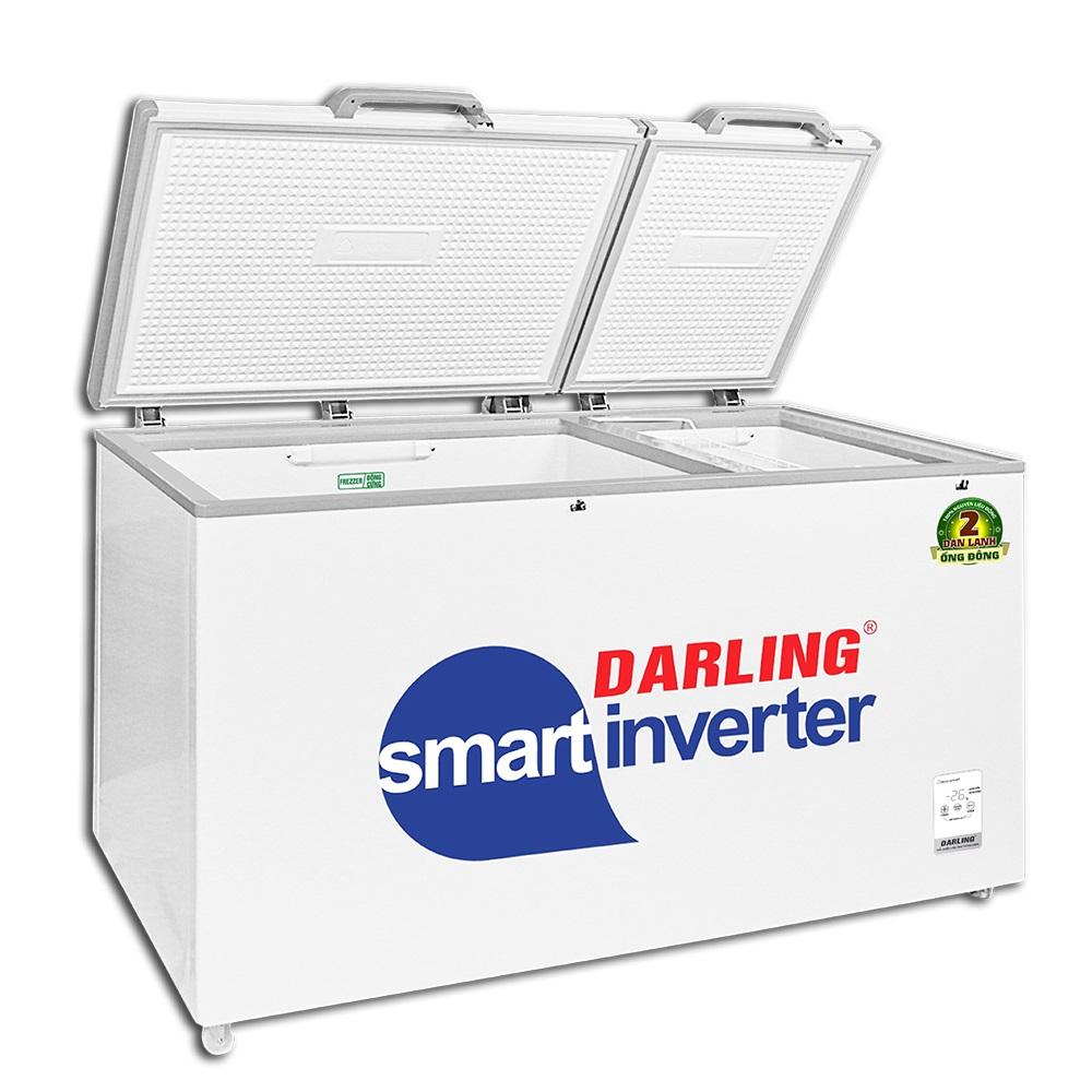 Tủ Đông Mát Inverter Darling 770 Lít DMF-7699WSI-4 2 Dàn Đồng