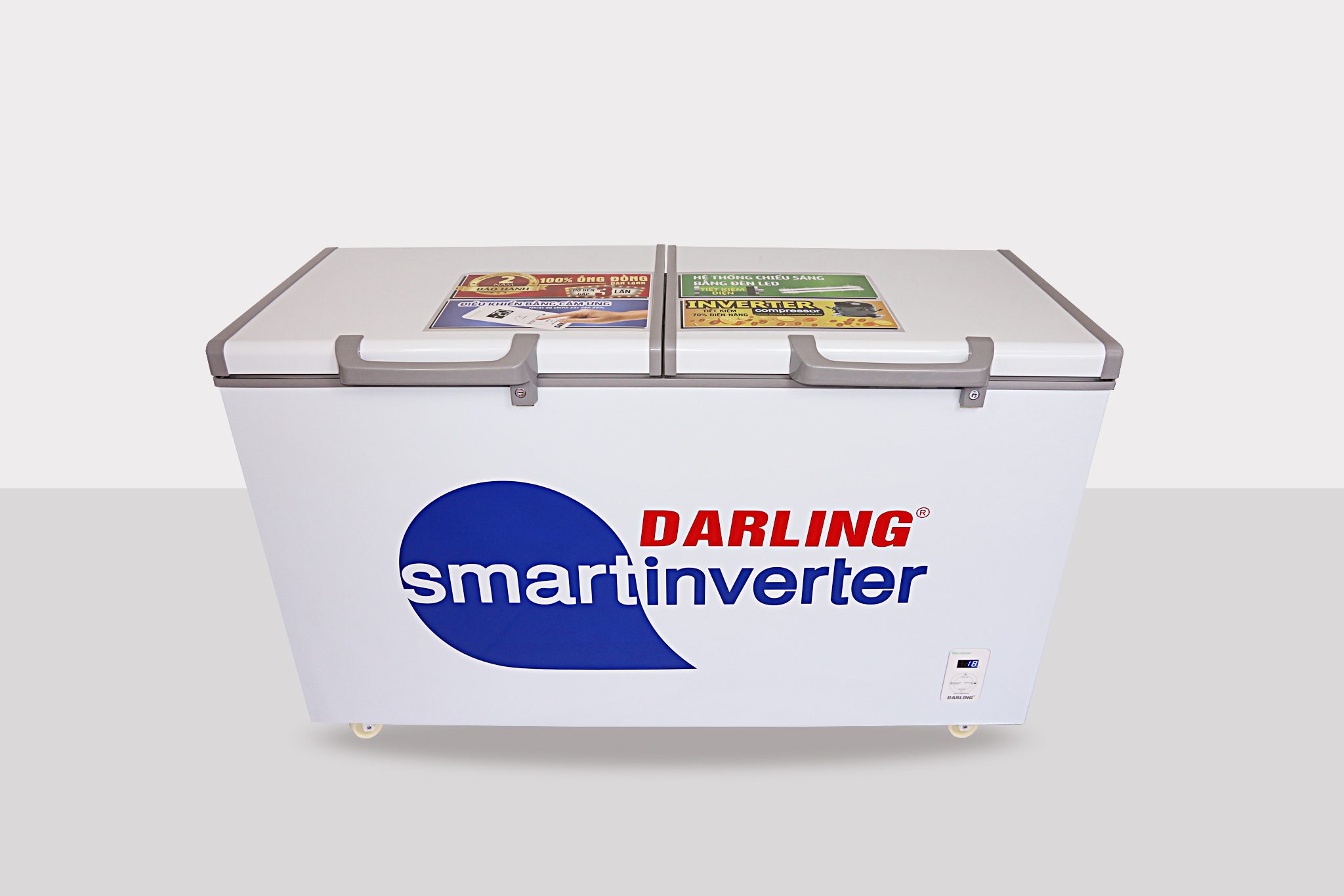 Tủ Đông Mát inverter Darling DMF-3699WSI