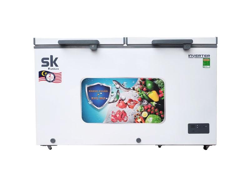 Tủ Đông Mát Inverter Sumikura SKF-350DI(JS) 350 Lít Dàn Đồng