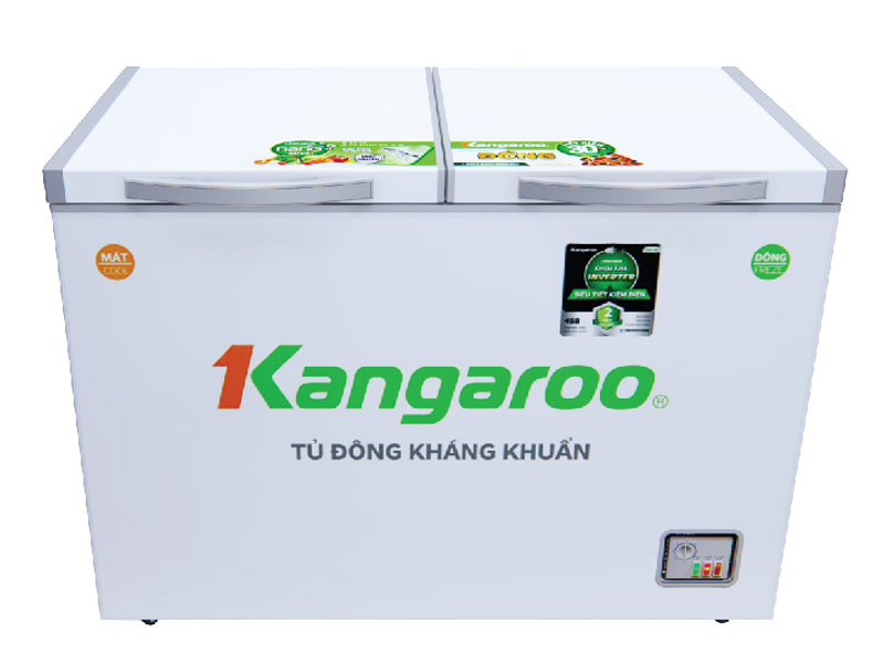 Tủ Đông Mát Inverter Kangaroo KG388NC2