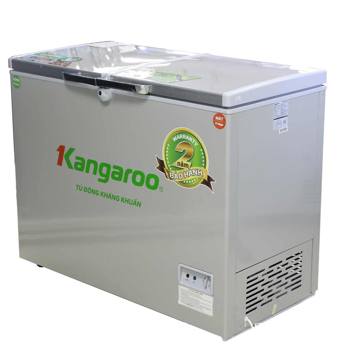 Tủ Đông Mát Kangaroo KG418VC2