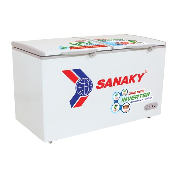 TỦ ĐÔNG MÁT SANAKY INVERTER 270 LÍT VH-3699W3 DÀN ĐỒNG