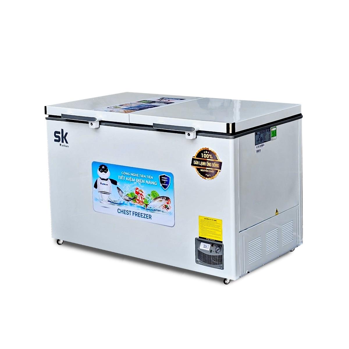 Tủ Đông Sumikura SKF-450S(JS) 450 Lít Dàn Đồng