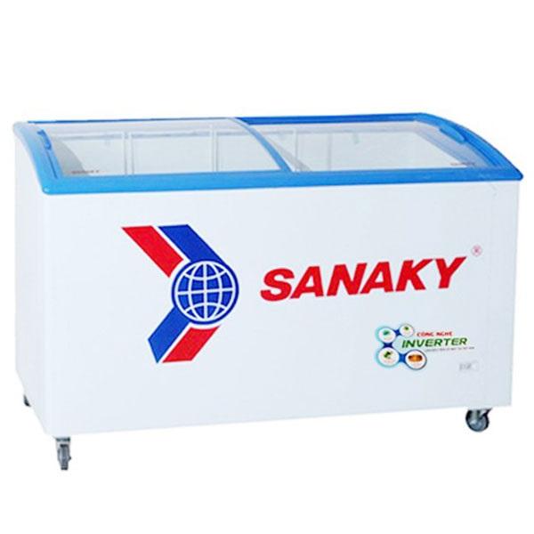 TỦ ĐÔNG TRƯNG BÀY KEM SANAKY INVERTER 340 LÍT VH-4899K3 ĐỒNG