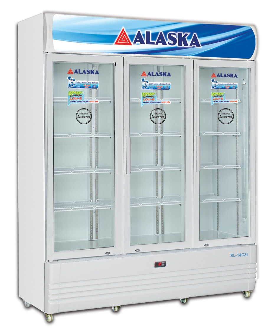 TỦ MÁT INVERTER ALASKA SL-14C3I 1400 LÍT