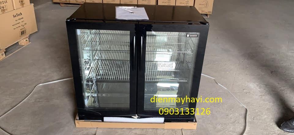 Tủ Mát Mini Bar Sanden Intercool SBB-0215 210 Lít Nhôm R600A