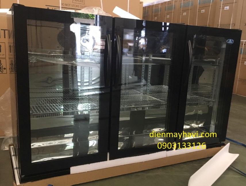 Tủ Mát Mini Bar Sanden Intercool SBB-0325 320 Lít Nhôm R600A